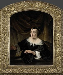 Portret van Elisabeth Dell