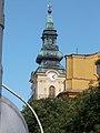 Ferences templom, toronysisak (Homályossy Ferenc, 1835), 2017 Szolnok.jpg
