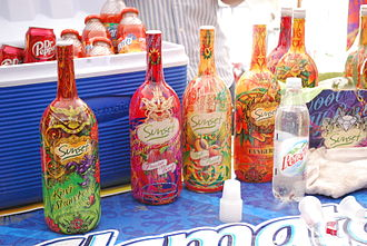 Tequisquiapan - Wine coolers for sale at the Wine Fair