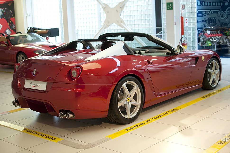 Ferrari 599 SA Aperta - Museo Ferrari (17948189268)