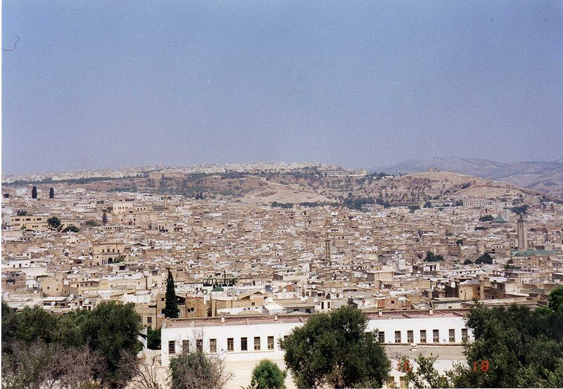 Ficheiro:Fez - view of the city.jpg