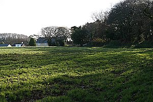 Plen-an-gwary - Image: Field at Playing Place geograph.org.uk 1058901