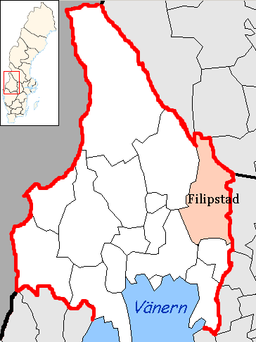 Filipstad Municipality in Värmland County.png