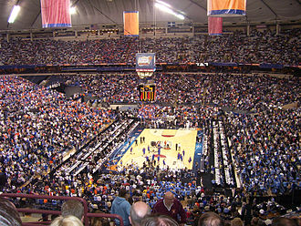 2006 NCAA Division I Men's Basketball Tournament - RCA Dome during the Final Four