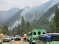 Fire crews in Cache La Poudre Canyon at the High Park Wildfire.jpg