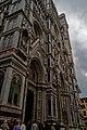 Firenze - Florence - Piazza del Duomo - View SSE on Emilio De Fabris' Façade 1887 of il Duomo.jpg