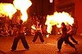 Fireshow in Třebíč at Zámostí 2014 8.JPG