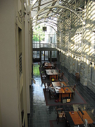 Princeton University Library - Interior of Firestone Library before renovation