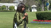File:First Lady Michelle Obama Plants the White House Kitchen Garden.webm