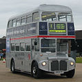 First London Silver Jubilee Routemaster SRM3 (RM1650) (650 DYE) Showbus 2004 cropped.jpg