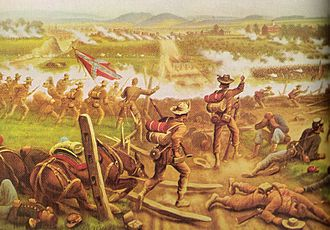Battle of Gettysburg, First Day - North Carolinians drove back federal troops in the first day at Gettysburg.