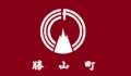Flag of Katsuyama Fukuoka.png