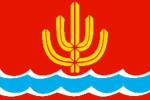 Sharya - Image: Flag of Sharya (Kostroma oblast)
