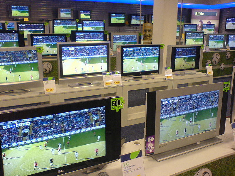 File:Flat screens for sale.JPG