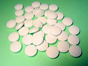 Common disk-shaped tablets