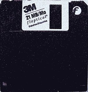 Floptical - The 21 MB Floptical 3½-inch disk