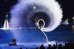 Flyboard - Acrobatics with flyboard