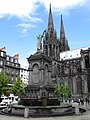 Fontaine Urbain II and Notre Dame Assomption 6 - Clermont-Ferrand.jpg