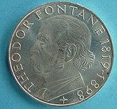 5-DM-Sondermünze von 1969 (Quelle: Wikimedia)
