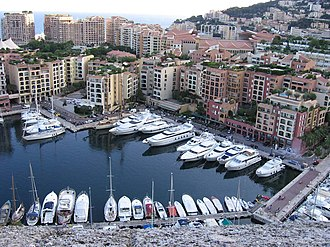 Land reclamation - The whole district of Fontvieille, Monaco was reclaimed from the sea