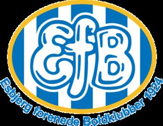 Esbjerg fB - Image: Football efb logo