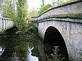 Footbridge and road bridge - geograph.org.uk - 1020009.jpg