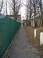 Footpath - Lower Town Street, Bramley - geograph.org.uk - 1066605.jpg