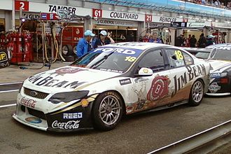 James Moffat (racing driver) - Image: Ford FG Falcon of James Moffat