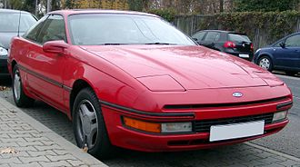 Ford Probe - Image: Ford Probe front 20071119