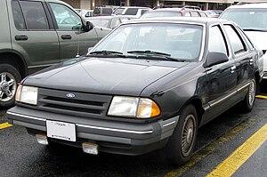 Ford Tempo - 1986–1987 Ford Tempo sedan