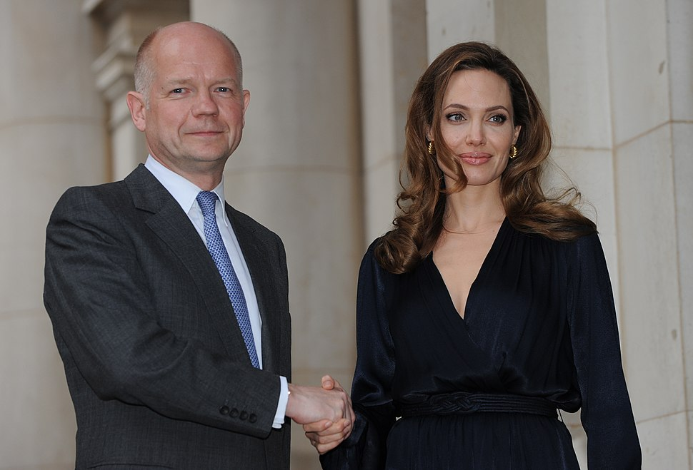 Foreign Secretary with Angelina Jolie (7296732398)