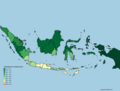 Forest Cover of Indonesian Administrative Divisions.png