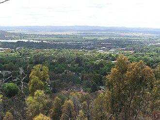 Forrest, Australian Capital Territory - A similar view in November 2005