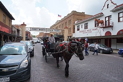 Fort Worth Stockyards Historic District