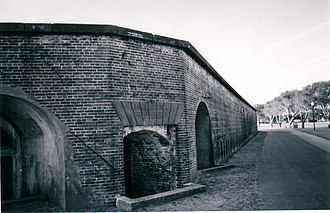 North Carolina Baptist Assembly - Entrance to original Fort Caswell