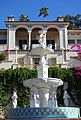 Fountain before the Casa del Sol (Hearst Castle) - DSC06526.JPG