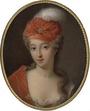 Louise Françoise de Bourbon, Duchess of Bourbon - Her younger sister, Françoise-Marie de Bourbon, c.1710