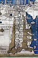 Francesco Berlinghieri, Geographia, incunabolo per niccolò di lorenzo, firenze 1482, 24 egitto 05 nilo.jpg