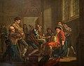 Francis Hayman (1708-1776) - Sir John Falstaff Raising Recruits - 1956P6 - Birmingham Museums Trust.jpg