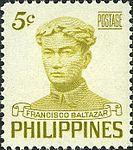 Francisco Balagtas 1953 stamp of the Philippines.jpg