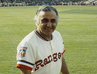 Frank Lucchesi - Lucchesi as manager of the Rangers, May 1977