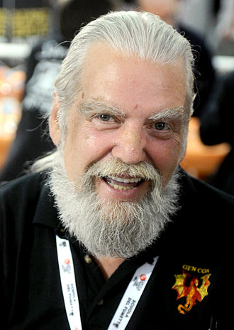 Frank Mentzer - Frank Mentzer at the 2014 Lucca Comics & Games