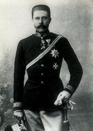 1910s - Archduke Franz Ferdinand.
