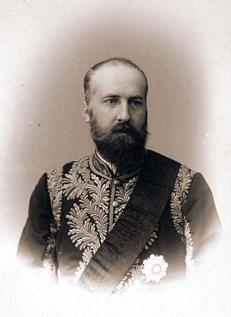 Franz I, Prince of Liechtenstein - Image: Franz I von Liechtenstein in Russia