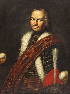 Baron Franz von der Trenck Austrian soldier