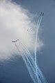 Frecce tricolori Air show Valtenesi del Garda Manerba 2016 figura.jpg