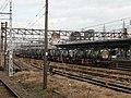 Freight trains at Omuta Station.jpg