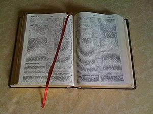 Bible en français.