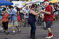 Freret Street Festival 2013 Creole String Beans crowd 1.jpg