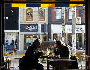 Friday lunch on Queen Street West, Toronto, Ca...